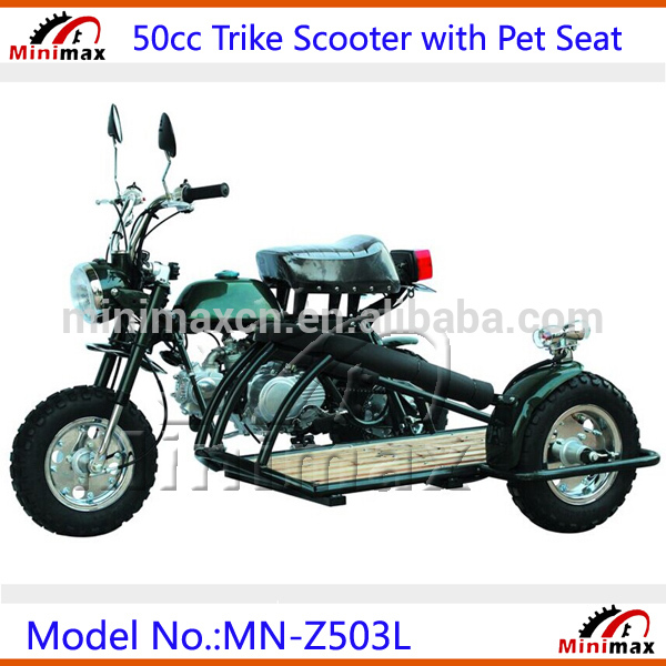 50cc benzin trike motorrad benzin scooter dreirad roller. Black Bedroom Furniture Sets. Home Design Ideas